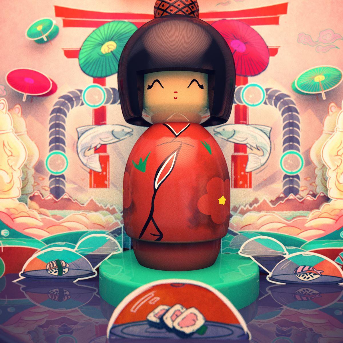 yo sushi FRONT